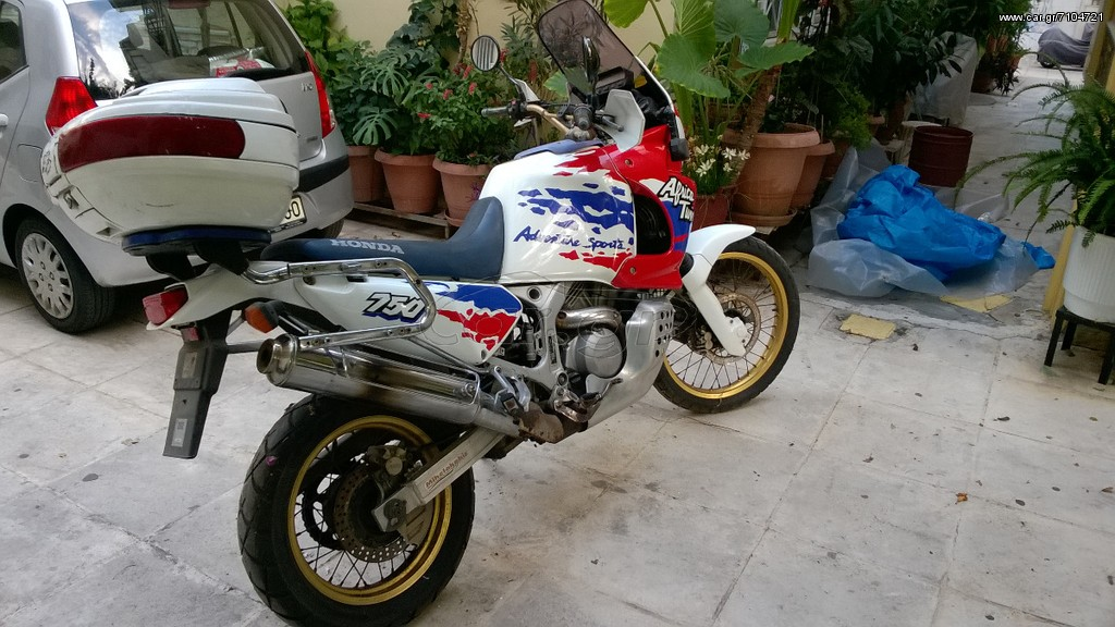 honda xrv 750 africa twin 39 1995 1598 0 eur. Black Bedroom Furniture Sets. Home Design Ideas
