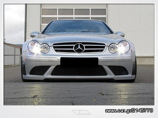 Clk63 amg black series look body kit for Mercedes benz clk black series body kit