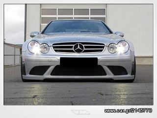 Clk63 amg black series look body kit for Mercedes benz clk black series body kit