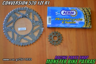 AFAM CONVERSION 520 RACING YZF R1
