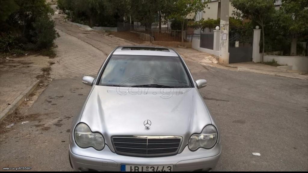 Mercedes benz c 200 kompressor elegance 39 2005 7000 0 eur for Mercedes benz 7000