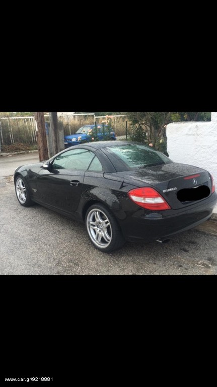 Mercedes benz slk 200 brabus k4 39 2008 15000 0 eur for Mercedes benz slk brabus price