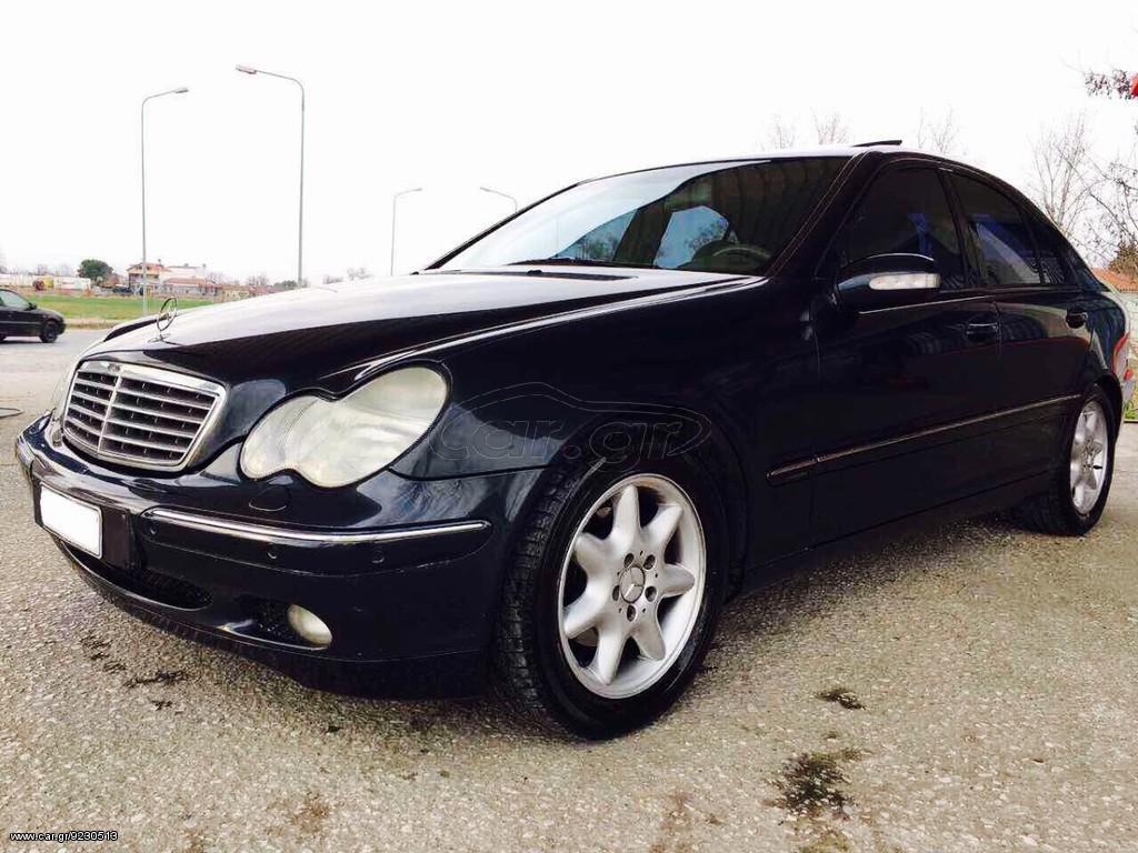 Mercedes benz c 180 39 2002 for Mercedes benz 7000