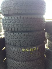 ***215/65/16 BRIDGESTONE D694 DOT 2013 4...